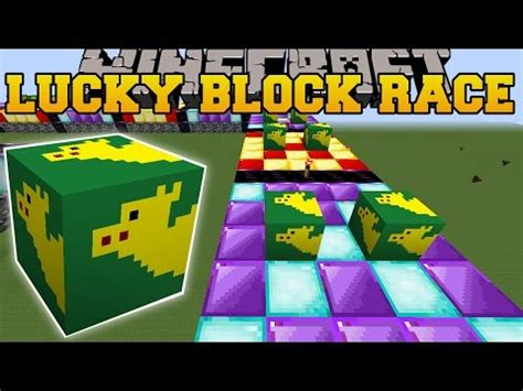 minecraft: weird camel lucky block race lucky block mod