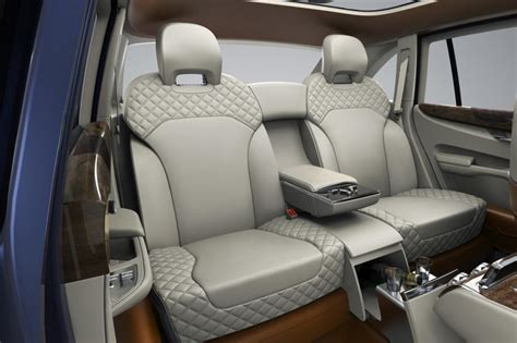 Bentley Suv Interior by Bentley Bentayga Suv Pics Specs And On Sale Date