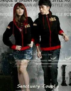 jaket rock hitam jacket remaja hoddie keren modis model terbaru