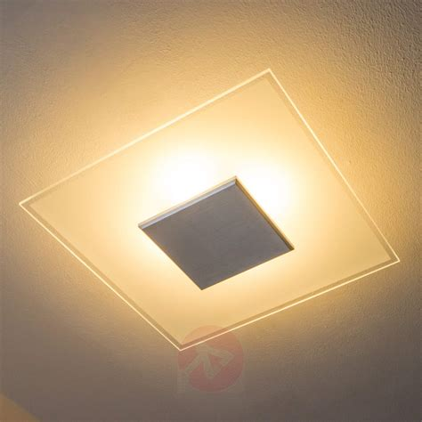 Dimmable Led Ceiling Lights Lole Dimmable Led Ceiling L Made Of Glass Lights Co Uk