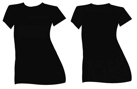 black v neck t shirt template black t shirt template clipart best