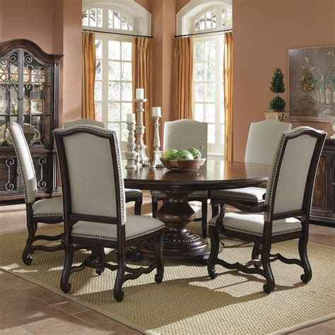 round dining room sets for 6 how to set a dining room table 6 best furniture sets