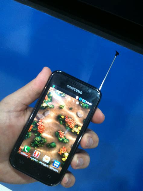 Samsung Galaxy Tv samsung galaxy s comes with a tv tuner and