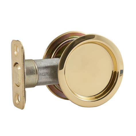 stanley hardware s849 083 pocket door pull brass
