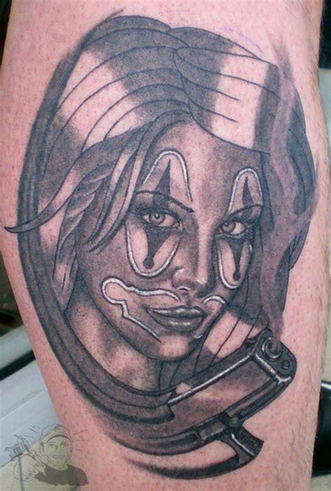 clown tattoos evil clown tattoos free tattoo ideas