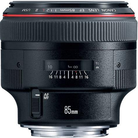 Canon Ef 85mm F 1 2 L Ii Usm canon ef 85mm f 1 2l ii usm lens 1056b002 b h photo