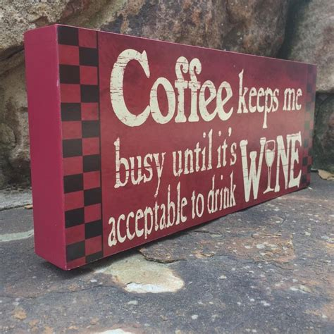 home decor wooden signs sayings wooden signs with quotes sayings about coffee funny wine