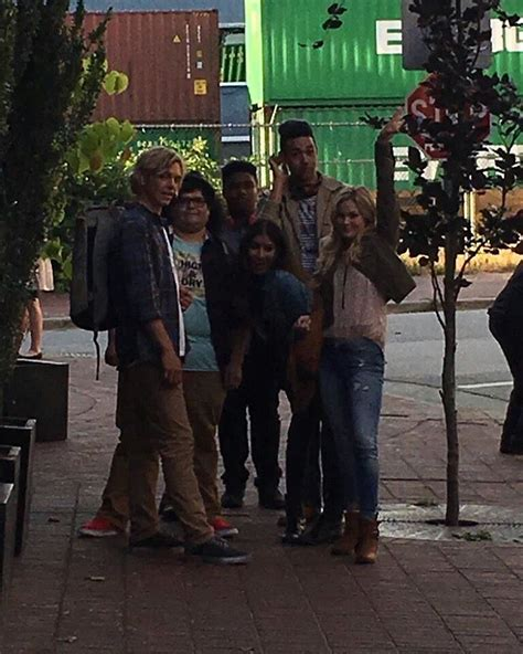 film up date olivia holt and ross lynch film status update in vancouver