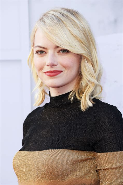 emma stone blonde emma stone went platinum blonde cause she can rock every