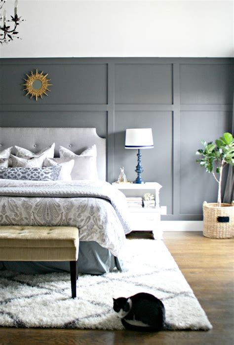 gray accent wall bedroom dark gray accent wall dark grey and focal wall