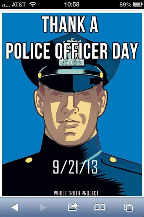 National Thank A Officer Day by Saturday September 21 2013 Is National Thank A