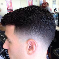 single level haircut with tapered ends men s hairstyles on pinterest hard part high and tight