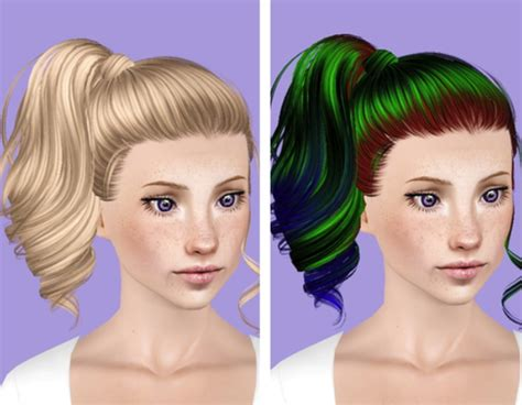 1800s hairstyles for sims 3 the sims 3 skysims 153 hairstyle retextured by plumb bombs