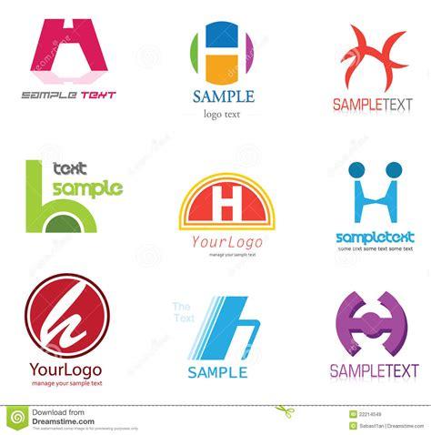 logo de la lettre h images libres de droits image 22214549