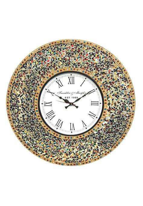 color block orange pumpkin silent wall clock decomates silent wall clock large decorative wall clock silent wall