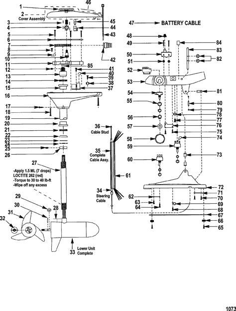 evinrude trolling motor wiring javelin trolling motor
