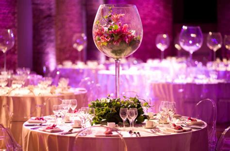 wedding reception table centerpieces glass wedding table centerpieces