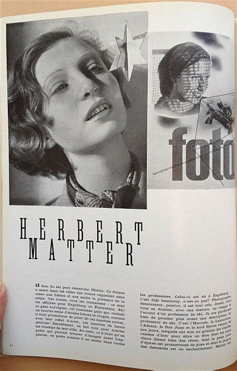 herbert matter herbert matter article from 15 february 1936 issue of arts