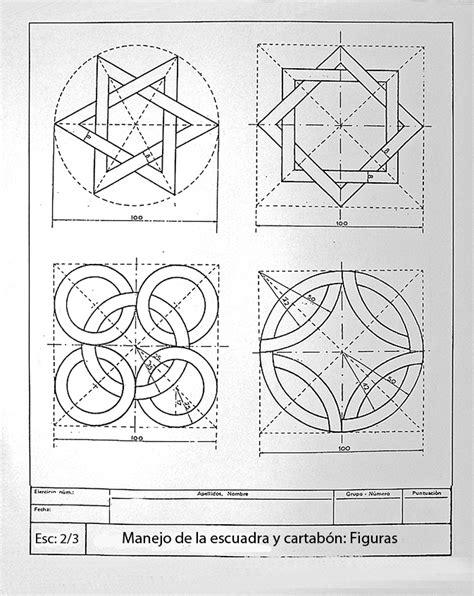 figuras geometricas utilizadas en el dibujo tecnico epvagrela 2 186 epv actividades