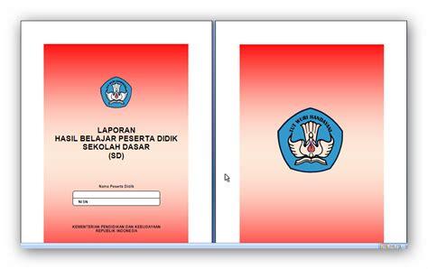 format buku raport sd ktsp buku raport sd mi kelas ii kurikulum 2013 informasi