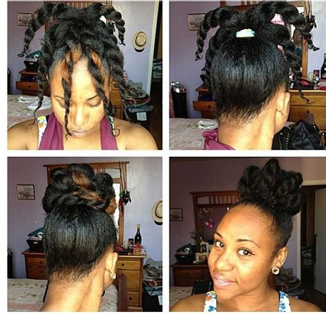 easy hairstyles for short relaxed hair textured bun so going to do this on curly hair relaxed