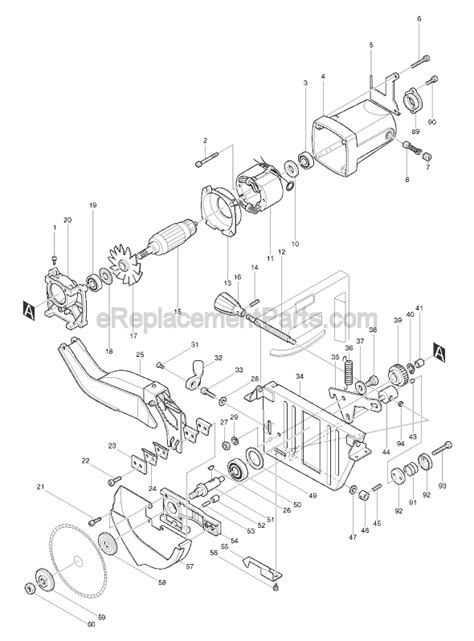 makita 2708 parts list and diagram ereplacementparts