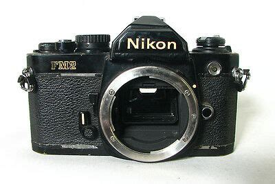 nikon fm2n slr black for repair parts 64 88 picclick ca