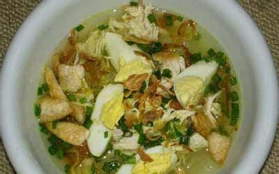 resep membuat soto ayam lamongan resep soto ayam lamongan dan cara membuatnya resep masakan