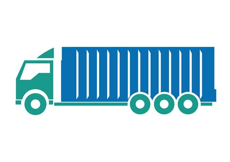 clipart png container truck png clipart free images in png