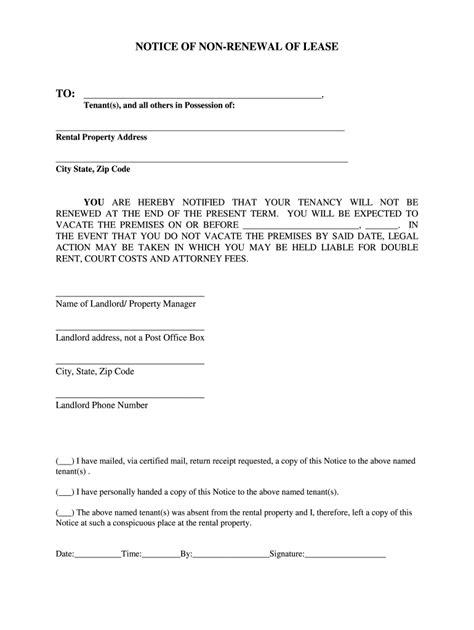 sample letter landlord tenant renewing lease