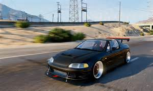 honda civic delsol civic eg vti 94 frontswap add on