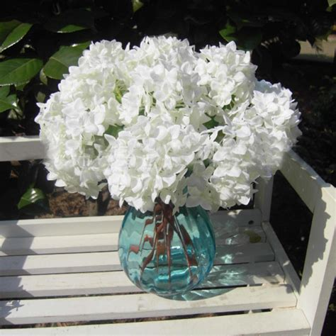 Centerpiece Bridal Hydrangea Decoration Garden Wedding Silk Flower Wedding Centerpieces