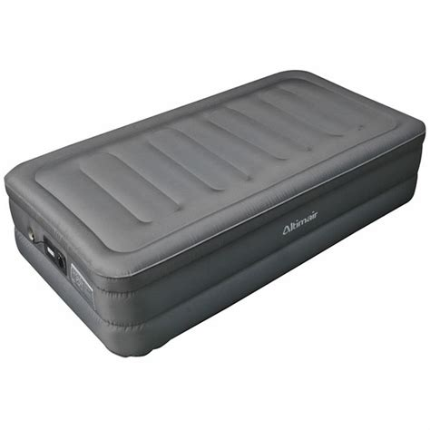 twin size air bed altimair twin size raised air bed laminated nylon polyester fabric air mattress