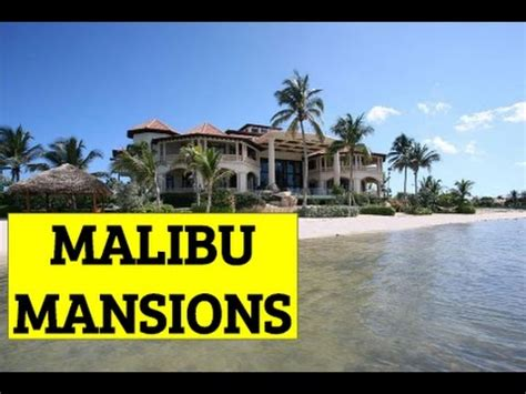 malibu million dollar homes mansions for sale in malibu