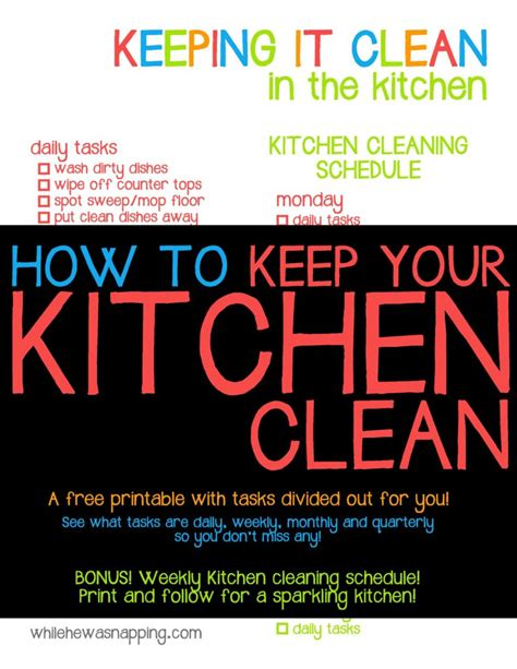 keep kitchen clean how to keep your kitchen clean 28 images my go to all