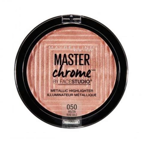 Maybelline Facestudio Master Chrome Metallic Highlighter maybelline facestudio master chrome metallic highlighter