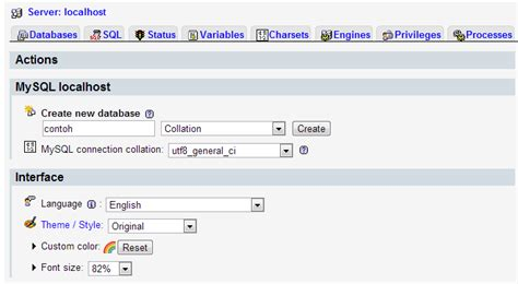 cara membuat database admin di xp cara membuat database di phpmyadmin hendriyudhape