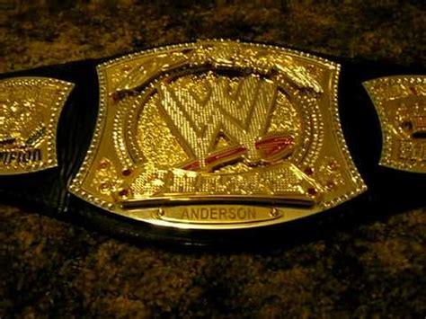 V Belt Spin chionship spinner belt replica