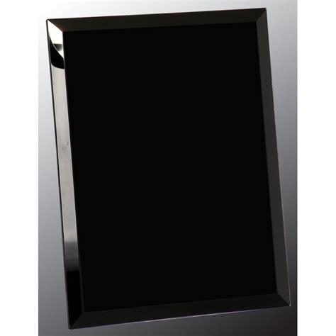 Black Mirror Glass | 8x10 black mirror glass plq