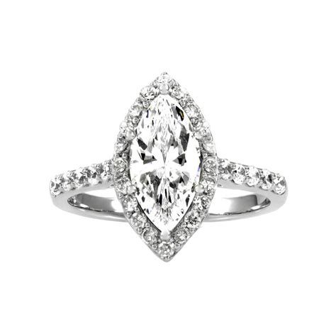 padgett s engagement ring marquise cut cz