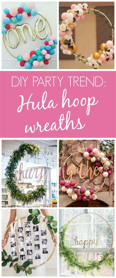 decoration ideas best 25 hula hoop ideas on diy