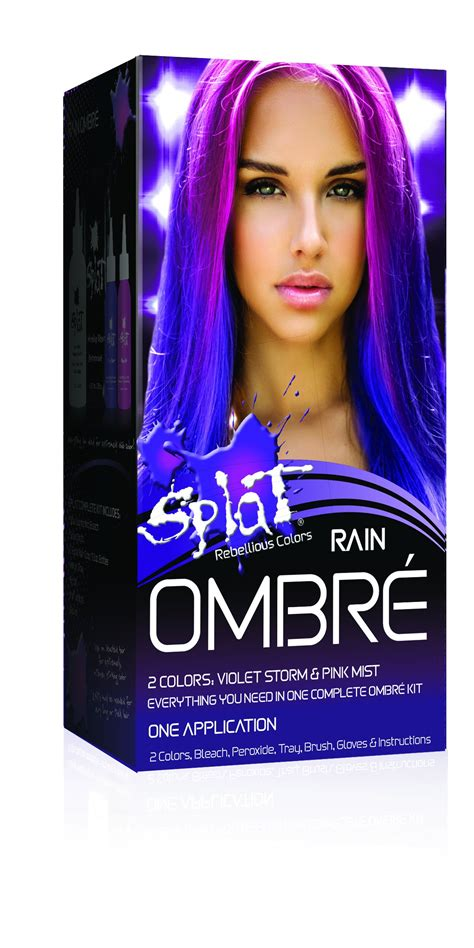 ombre hair color kit 30 wash splat kits ombre