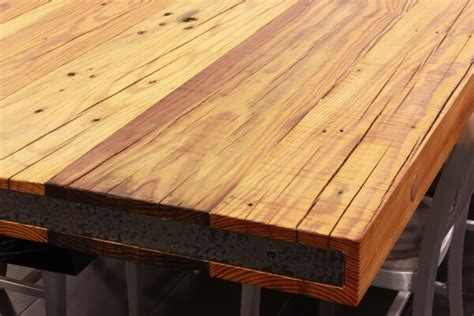 Staining Old Kitchen Cabinets reclaimed wood countertops j aaron