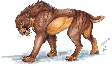 Kaos Animal Sketch 02 coldrock pride pride of sabertooths open lioden