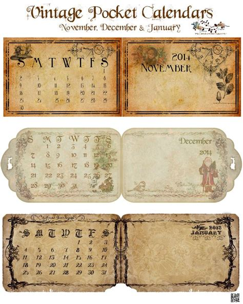 printable calendar vintage 1000 images about ephemera free printables on pinterest