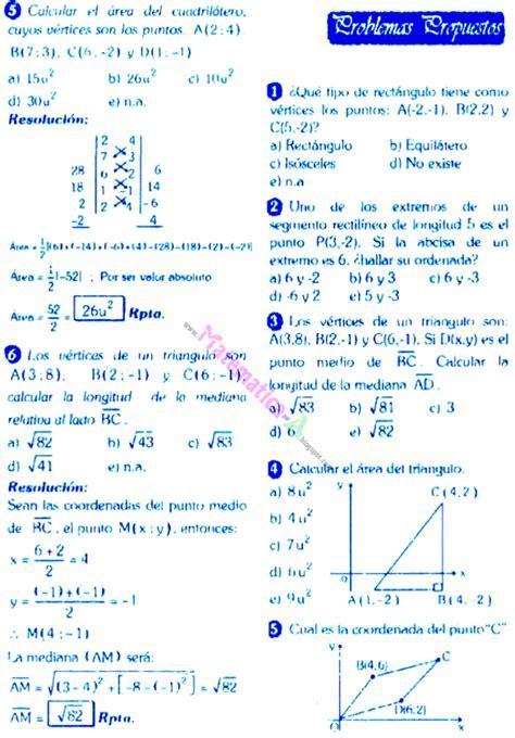 preguntas de matematicas con respuesta matematicas problemas resueltos coordenadas cartesianas