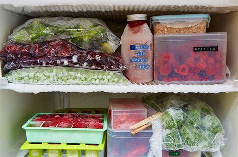 Freezer Frozen Food cutting food waste fabulous freezer tips oliver