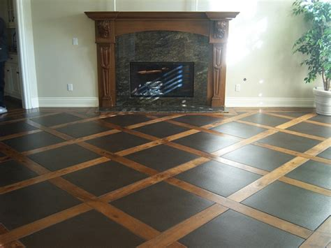 Cool Flooring Ideas Combining Two Elements Never Crossed My Mind But The Wood And Tile Combination Is
