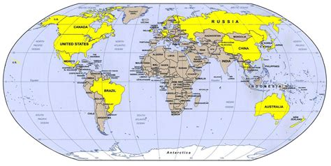world map moscow russia world map free large images