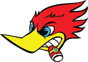 woody woodpecker logo vector eps free download